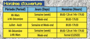 horaire vf